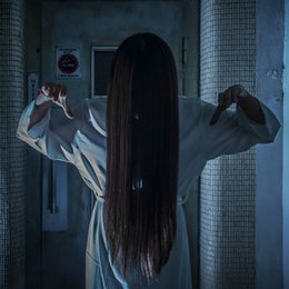$enCountryForm.capitalKeyWord NZ - 2019 Halloween Costume Scary Sakako Rope White Red Cosplay Ghost Samara for Women and Man