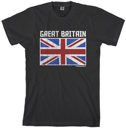 britain flags Australia - 2018 Men's Flag of Great Britain T-shirt UK England London Style Round Style tshirt Tees Custom Jersey t shirt