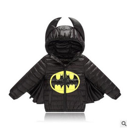 $enCountryForm.capitalKeyWord Australia - Kids boys&girls jacket winter coat warm down cotton jacket batman for baby outwear coat Christmas baby clothes kids costume