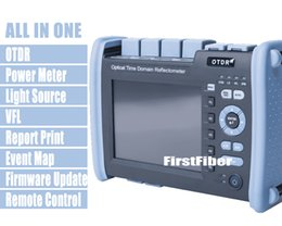 FF-990PRO-Q1 Reflectómetro OTDR SM MM 850/1300/1310 / 1550nm Construido VFL OPM OLS Pantalla táctil con conector SC ST FC LC en venta