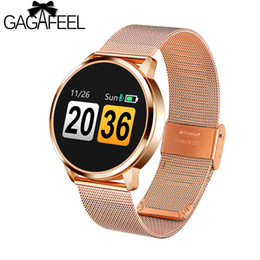 q8 smart watch NZ - wholesale Q8 Heart Rate Monitor Smart Watch Blood Pressure Oxygen SmartWatch IP67 Pedometer Men Women Sport Fitness Watches