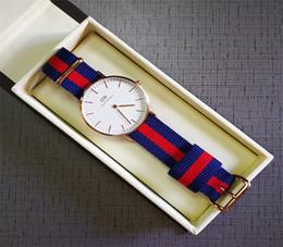 $enCountryForm.capitalKeyWord Canada - Daniel Wellington watch dw Luxury Women Quartz Watch Nylon strap 36MM Dial Watches Fashion Lady Elegant Clock with original box