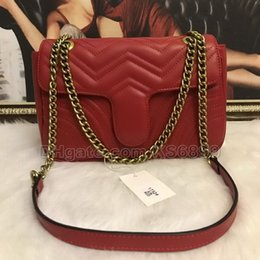 $enCountryForm.capitalKeyWord Australia - New Arrival Marmont Shoulder Bags Women Chain Crossbody Bag Handbags New Designer Purse Female Leather Heart Style Message Bag #1732717
