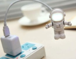 cool desk lights Australia - Very cool USB lighting Astronaut Style Lighting USB desk lamp Notebook keyboard lighting lamp Fashion Ambient Lamp