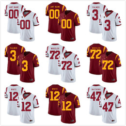 28eb589f3f3 Custom Mens Youth USC Trojans Any Name Any Number Personalized Kids Man  Home Away NCAA College Football Jerseys