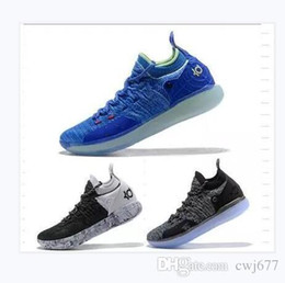 on sale 9c0c8 a4899 2019 designer shoes Zoom KD 11 Men Basketball Shoes KDs XI Kevin Durant  Outdoor sports Fmvp combat boots size us 7-12