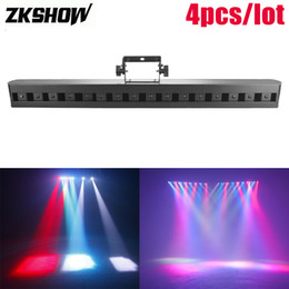 wash effect Australia - 80% Discount 16*3W LED Beam Wash Bar Light Licht DMX512 DJ Disco Home Party Club Music Pro Sound Stage DJ Lighting Effect Luci Discoteca