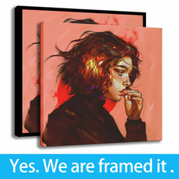 Support Painting Australia - HD Print Canvas Oil Painting Modern Simplicity Decor Armand Fanart Art Framed Art - Ready To Hang - Support Customization