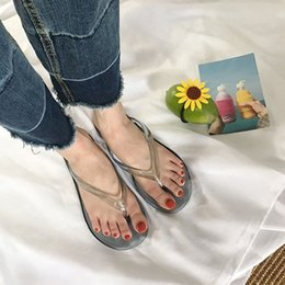 $enCountryForm.capitalKeyWord NZ - Comfortable Party Indoor Ladies Casual Bath Size 36-41 Flat Bottom Shopping Lovely Artificial PU Fabala Outdoor Summer Sandals