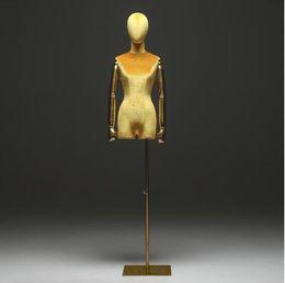 Wholesale 10style Golden arm color window cotton mannequin body stand Female dress form Mannequin,jewelry flexible women,adjustable rack,doll C840