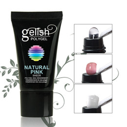 Poly Gel Nail Polish For Nail Extensions Crystal Poly Gelish Nail Gel Manicure Art Tool RRA1256 on Sale