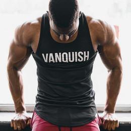 $enCountryForm.capitalKeyWord Australia - Sleeveless Gym T Shirt Men Running Shirt 2019 Summer Vest Cotton Breathable Mens Tank Top Workout Fitness T-Shirt Sport Shirt GYM Tops FL218