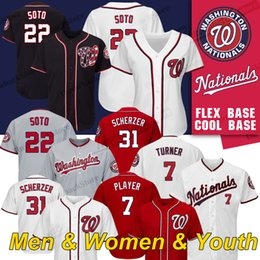 6273f2f9c Washington nationals jerseys online shopping - Washington Nationals Jersey  Juan Soto Stephen Strasburg Max Scherzer Trea