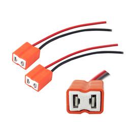 Discount socket bulbs - LEEWA 2pcs Car Auto Ceramic H7 Socket H7 bulb holder H7 Connector #5466