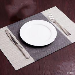 Kitchen Place Mats Australia - Pack Of 4pcs Placemats Kitchen Dinning Place Non-slip Dish Bowl Placement Heat Stain Resistant Table Decorative Mats Q190606