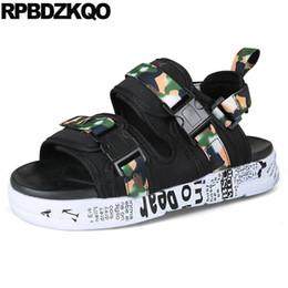 f6ac58f11e7d65 Casual Mesh Waterproof Black Shoes Mens Sandals 2018 Summer Outdoor Sneakers  Nice Platform Sport Beach Designer Strap Japanese