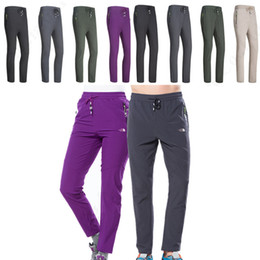 face leggings NZ - Brand NF Jogger Pants Quick Dry Trousers Designer Motion Pants The North Light Weight Flash Dry Face Sports Outdoor Hiking Leggings C82301