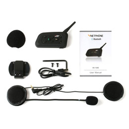 walkie talkies for motorcycle helmets Australia - New Motorcycle Helmet Walkie-talkie 1200 M Duplex Riding Walkie-talkie V6Pro 1200M for Motorcycle Helmet Moto Intercom Headset