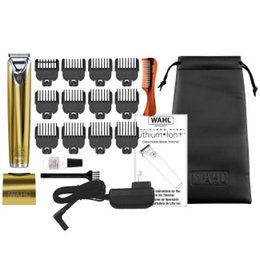 golds factory outlet Australia - Wahl 100th Year Limited Edition Gold Lithium Ion Trimmer Wahl air Clippers In Stock Original Factory Outlet Store Hot Sale
