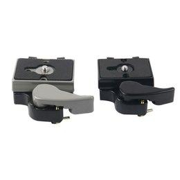 $enCountryForm.capitalKeyWord Australia - 10pcs lot dslr camera tripod monopod head kit quick seat quick release plate for flash light stand mount 3 8