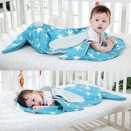 Wrap Sleeping Bag Australia - Newborn Baby Blanket Warm Quilt Stroller Cover Fleece Lining Rabbit Ear Swaddle Wrap Bag Sleeping Swaddling Infant Sack Bedding