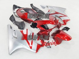 F4i Silver Red Australia - New Injection Mold ABS motorcycle fairings kit fit for Honda CBR600F4i CBR600 FS F4i 2004 2005 2006 2007 04 05 06 07 nice red silver