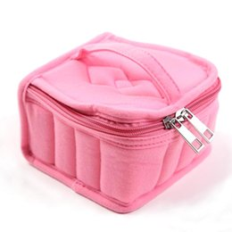 Discount ladies carry bags - Fashion portable multi-functional cosmetic bag carrying a combination of travel cosmetic bag home storage ladies