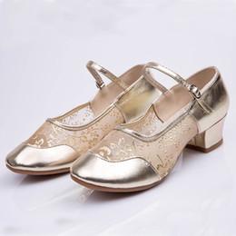 $enCountryForm.capitalKeyWord Canada - Designer Dress Shoes Muqgew Women Med Heels Ladies Dancing Rumba Waltz Prom Ballroom Latin Salsa Dance Singles Leather Footwear Female