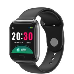 women smart watches UK - Sport Smart Bracelet Men Smart Watch Women Fitness Tracker Wristband Heart Rate Smartwatch PK B57
