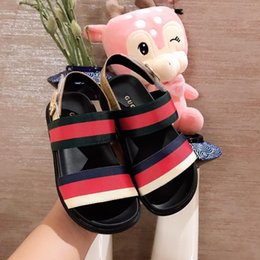 american leather shoes Australia - kids Sandals Beach shoes New European And American Outdoor Sandals Summer Roman style Children's Soft-soled Anti-skid Comfortable ni-ke20
