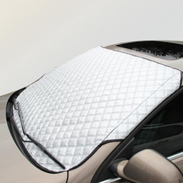 car window foil NZ - Car Window Sunshade Snow Car Covers For SUV And Ordinary Sun Shade Reflective Foil Windshield Snow Blocked