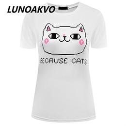 $enCountryForm.capitalKeyWord Australia - Because Cats Pixel T-Shirt    Pastel Goth Harajuku Kawaii Fairy Key Creepy Cute Cat Soft Grunge Kitten Goth Japanese Tumblr