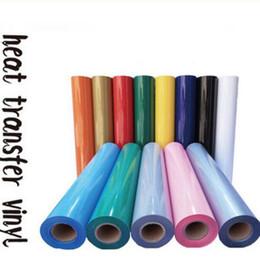 "PVC Heat Transfer Vinyl 1 sheet 12""x20"" 30cmx50cm Heat Press Machine Heat transfer Cutting Plotter T-shirt DIY SALE!"