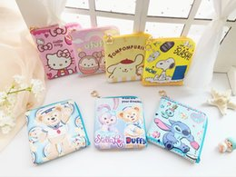 Cheap Lady Handbag Wholesale Australia - Animal Print Hello Kitty My Melody Coin Purse Mini Bag Kids Handbags Cheap Wallet porte monnaie femme pochette P6