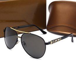 Womens Polarized Sun Glasses NZ - Designer Polarizerd Sunglasses for Mens Glass Mirror Gril Lense Vintage Sun Glasses Eyewear Accessories Womens with Box 4294#