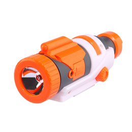 Nerf Guns Wholesale NZ - Modified Part Tactical Flashlight for Nerf Elite Series set Grip for toy gun