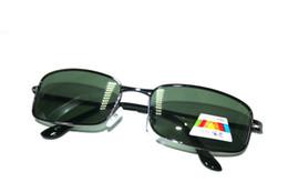 Pictures Sunglasses Australia - Retro Classic Vintage Square 100% Polarized Polaroid fishing driving driver UV400 UV100% sunglasses real pictured 655