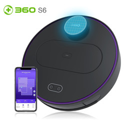 robotics cleaner Australia - 360 S6 Robotic Vacuum Cleaner Automatic Remote Control Cleaning Robot Smart LDS lidar Sweeping Robot for Home Sterilizer Cleaner