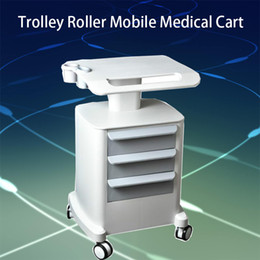 Carts Trolleys Australia - 2019 New Trolley Roller Mobile Medical Cart With Drawers Assembled Stand Holder For Salon Spa HIFU Machine CE DHL Fast Shipping