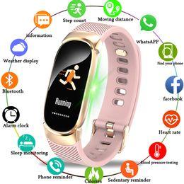 Smart Health Watch Heart Monitor Australia - Fitness Smart Watch Women Men Heart Rate Monitor Blood Pressure Health Pedometer Running Waterproof Sport Watch For IOS Android