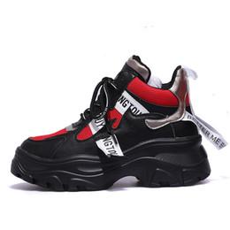 6ffaa583c chunky sneakers 2019 - 2019 Harajuku Women's Chunky Sneakers Tenis Basket  Women Casual Platform Shoes Ulzzang