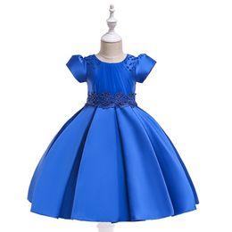 $enCountryForm.capitalKeyWord NZ - 2019 Ins beaded skirt short sleeve princess dresses new year dress children twill short dress wedding dresss girls frocks