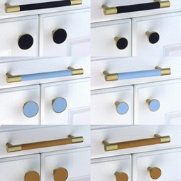 $enCountryForm.capitalKeyWord Australia - Solid Brass Door Handles and Knobs Modern Drawer Pulls Vintage Kitchen Cabinet Handles and Furniture Handles Hardware