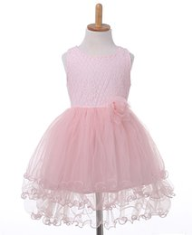 $enCountryForm.capitalKeyWord Australia - Baby Girl Gown Lace Dresses Summer Kids Flower Dress For Girls Bebes Vestido Bridesmaid Tutu Dresses Hot Sale Formal Dress