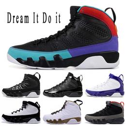 $enCountryForm.capitalKeyWord NZ - 2019 Dream It Do It BRED 9s Basketball Shoes Triple s Black LA Lakers PE The Spirit 9 Mens Sports sneakers 7-13