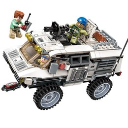 $enCountryForm.capitalKeyWord Australia - 300pcs Children's Educational Building Blocks Toy Compatible City Military War Armored Vehicle Model Diy Figures Bricks J190719