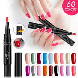 Wholesale One Step Gel Nail Polish Pen No Base Top Coat Need Saviland in Soak Off UV LED Varnish Nail Art Kit gel polish