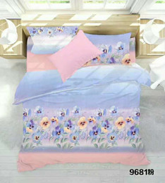 Bedsheet Cotton White Australia - 5pc variety of colorful white dot colored cute bed sheet spring and autumn 100% cotton comfort kids home textile