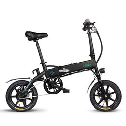 standard bicycles NZ - Findo Aluminum Alloy Folding Bicycle With Pedals Tire 250W Hub Motor Electric Bicycle Folding Bike