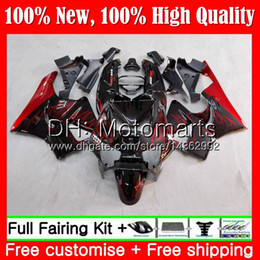 cbr919 fairings UK - Body For HONDA CBR 919RR CBR900 RR Red flames CBR 900RR CBR919RR 98 99 50MT5 CBR 919 RR CBR900RR CBR919 RR 1998 1999 hot Fairing Bodywork